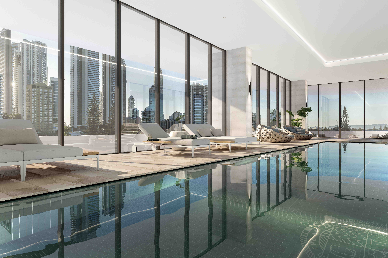 Real Estate   Gold Coast   Chevron Realty   Indoor Pool